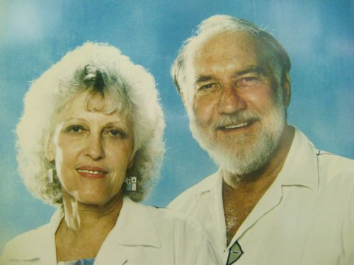 John Wesley School Founders Ethel and Ray Light